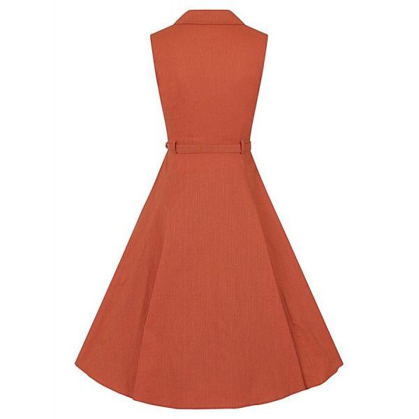 Swing Dress, CATERINA Sleeveless Orange