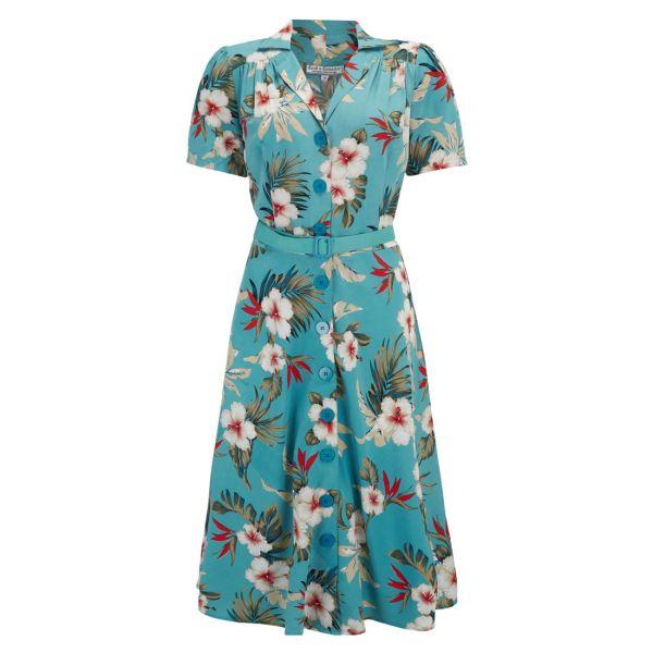 Swing Dress, ROCK'N Charlene Teal