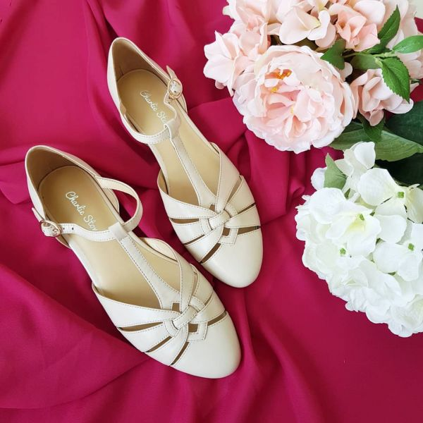 Shoes, CHARLIE STONE Montpellier Cream