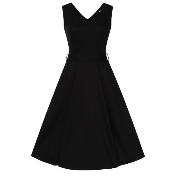 Swing Dress, CHARLOTTE Black
