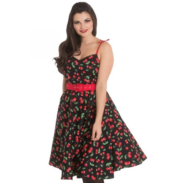 Swing Dress, SWEETIE 50s Black (4869)