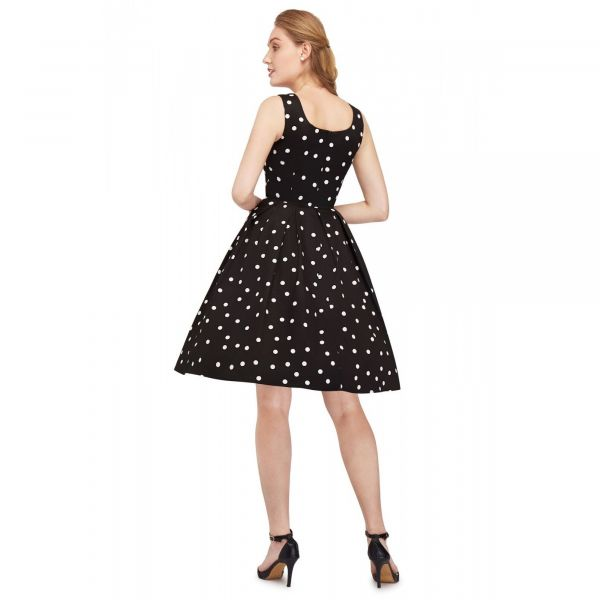 Swing Dress, AMANDA Crazy Dots (950-33)