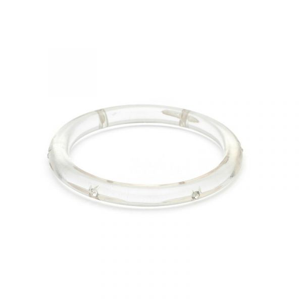 Bracelet, SPLENDETTE Clear Starburst Narrow