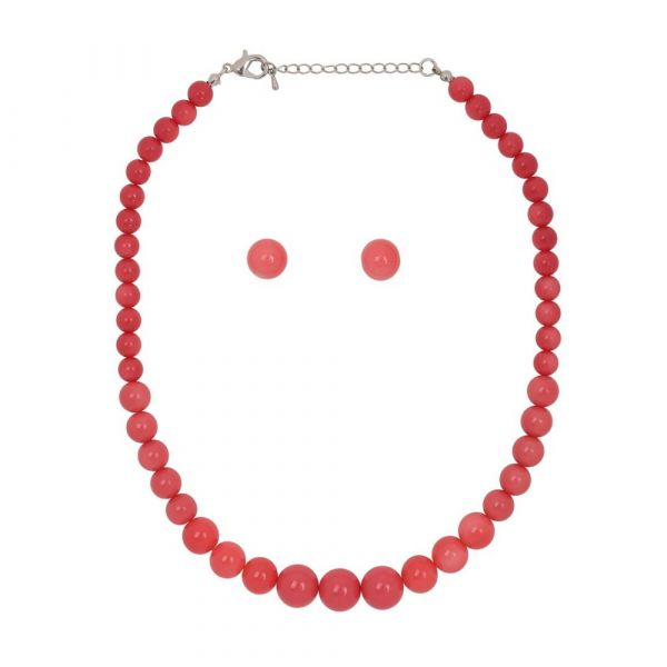 Bead Set, NATALIE Beads Coral