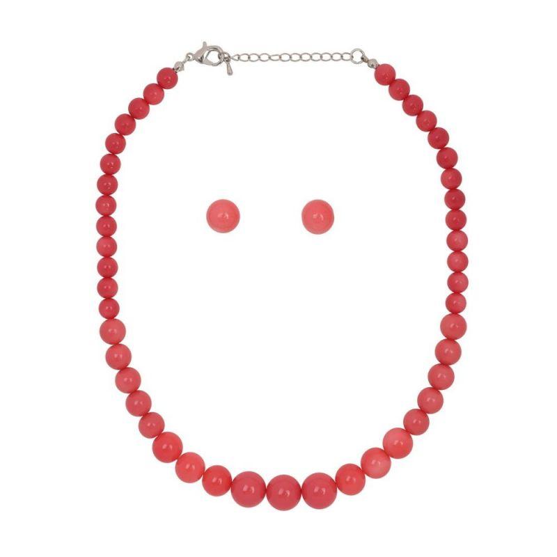 Korusetti, NATALIE Beads Coral