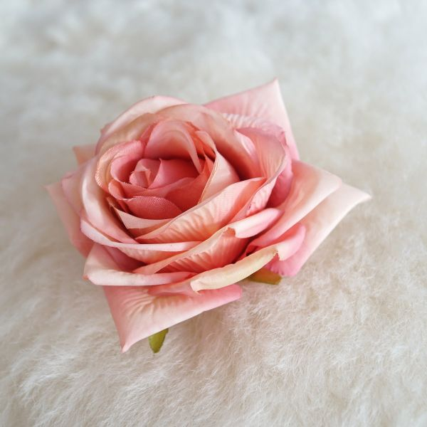 Hair Flower, SCENTED LOVE Coral