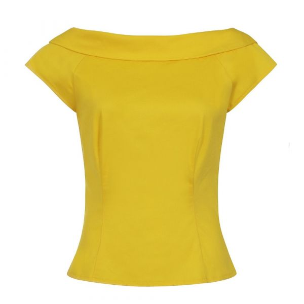 Top, CODELIA Yellow