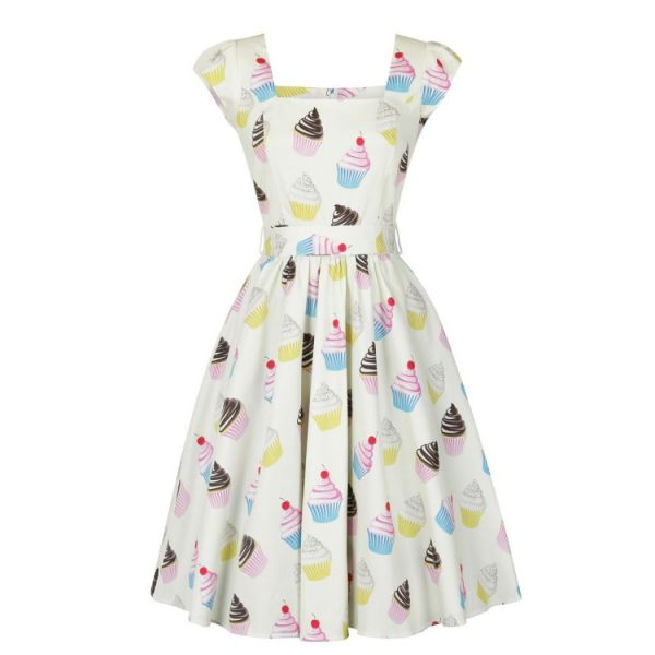 Swing Dress, LADY V Cupcakes