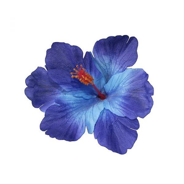 Hair Flower, DEBRA Hibiscus Single Blue