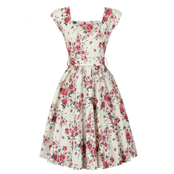 Swing Dress, LADY V Delicate Floral