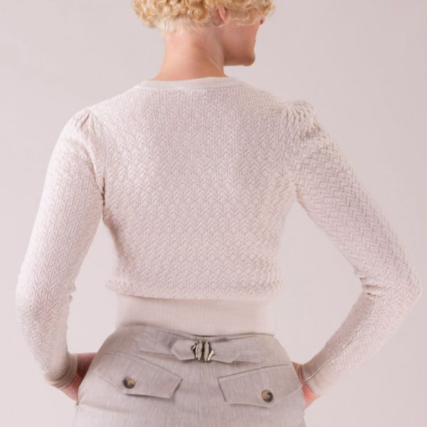 EMMY Cardigan, Delightful Daytime Linen