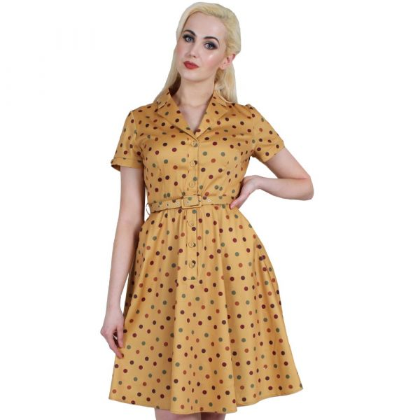 Swing Dress, DIANA Dot (9233)