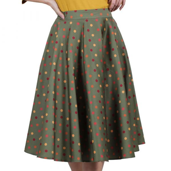 Swing Skirt, DIANA Dot (3590)