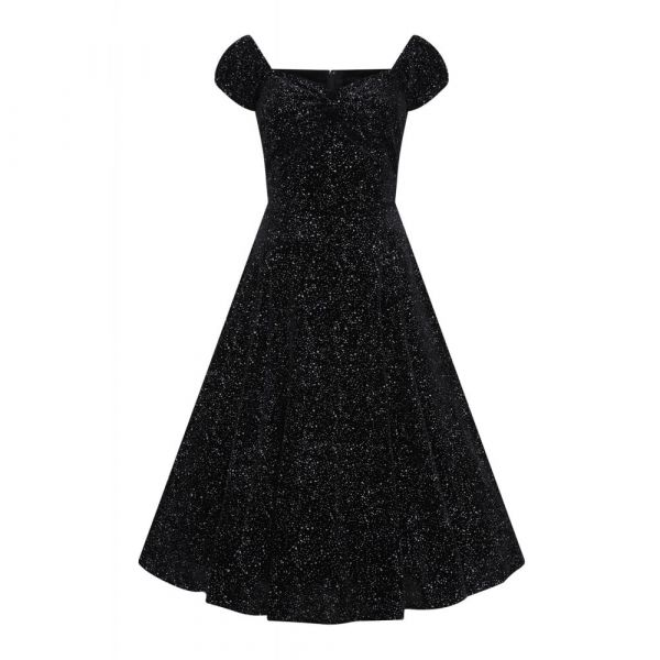 Swing Dress, DOLORES Glitter Drops