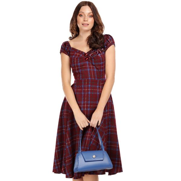 Swing Dress, DOLORES Wine Check