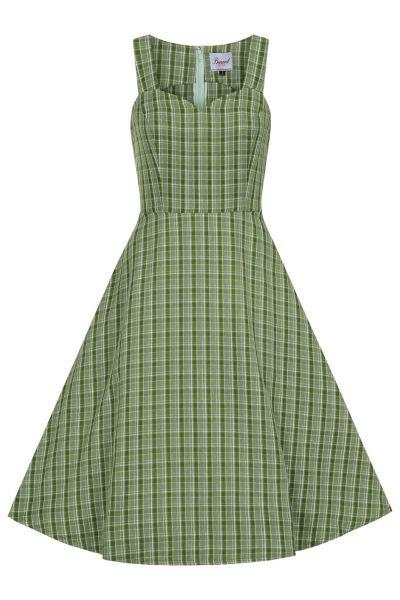 Kellomekko, LADY LUCK Green (16484)