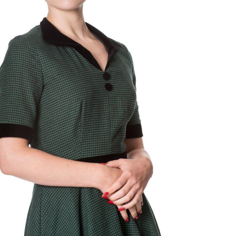 Kellomekko, SWEPT OFF HER FEET Green (5142)