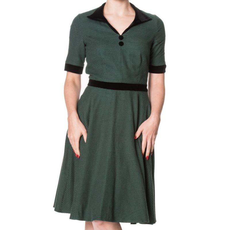 Swing Dress, SWEPT OFF HER FEET Green (5142)