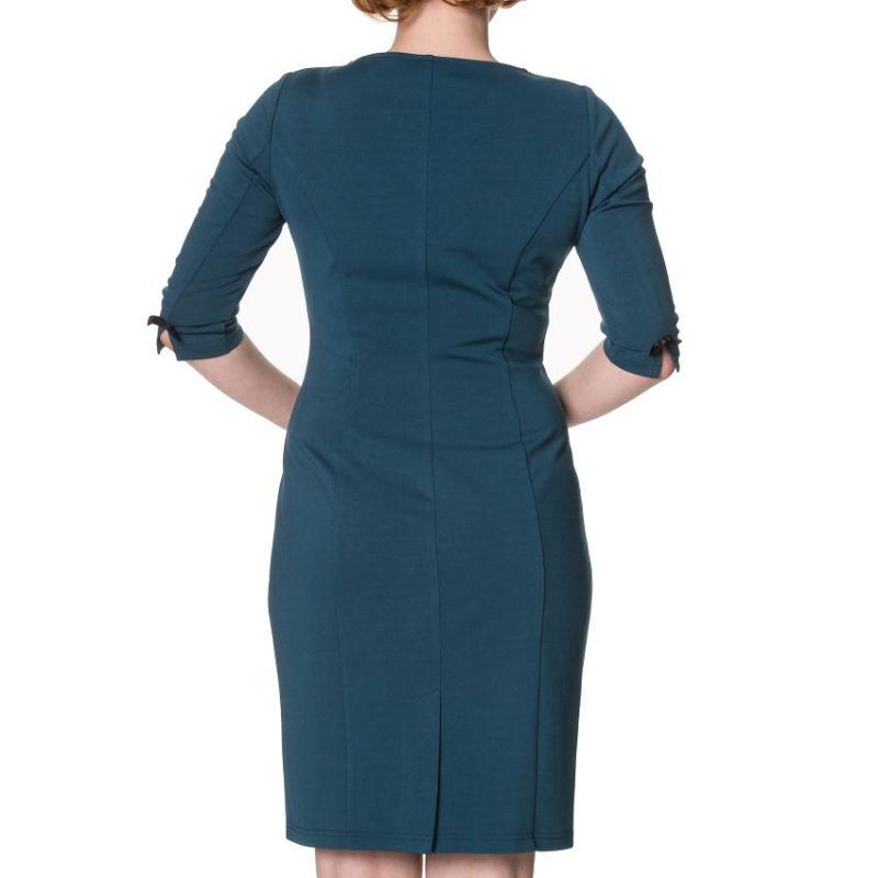 Pencil Dress, ALLURE Teal (5411)