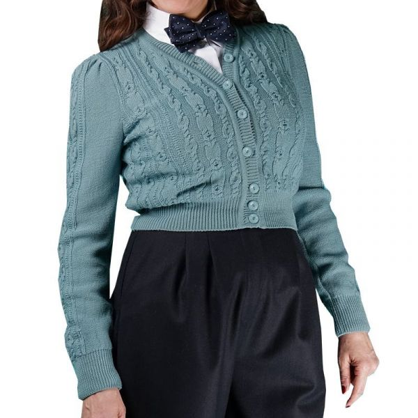 EMMY Cardigan, Ice Skater Dusty Blue