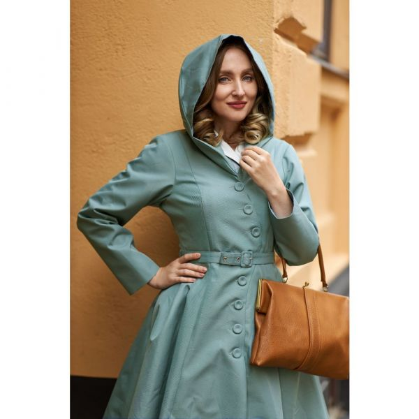 Coat, Miss Candyfloss LORIN Dusty Mint