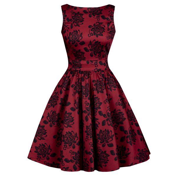 Tea Dress, Elegant Floral