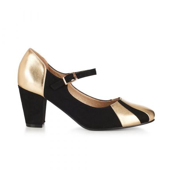 Heels, ELIANA Gold