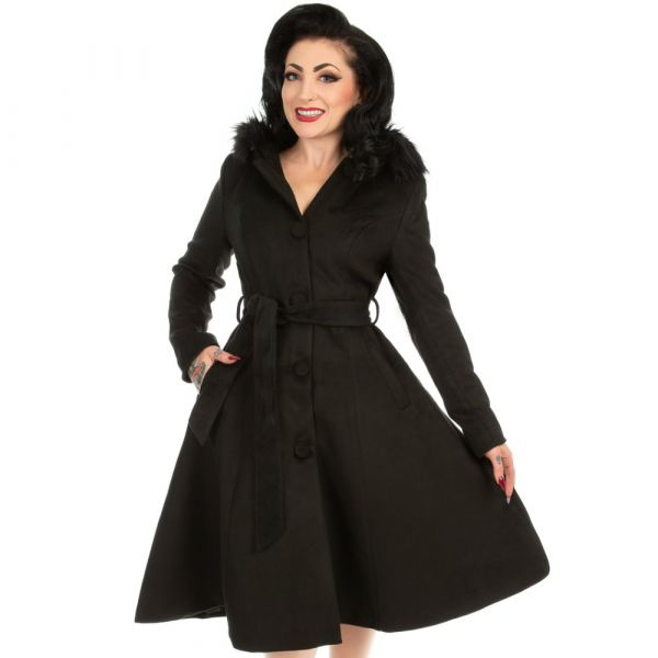 Coat, ELLA Swing Black
