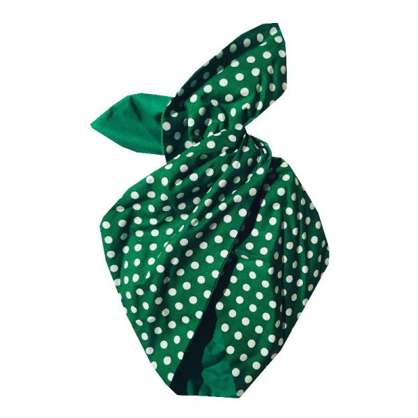 Hairband, BE BOP Emerald Polkadot