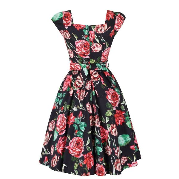 Swing Dress, LADY V English Rose