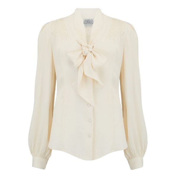 Blouse, SEAMSTRESS OF BLOOMSBURY Eva Ivory