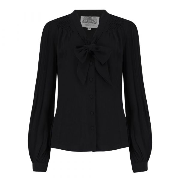 Blouse, SEAMSTRESS OF BLOOMSBURY Eva Black