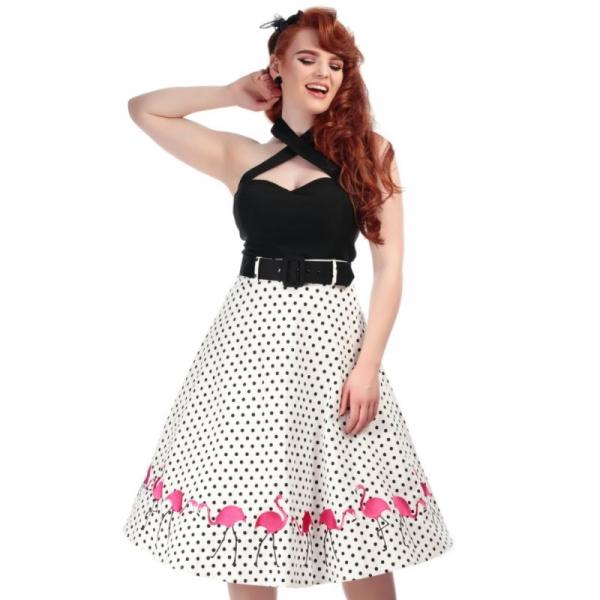 Swing Skirt, FANCY FLAMINGO