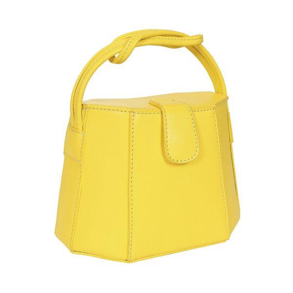 Handbag, FELICITY 50S BOX Lemon