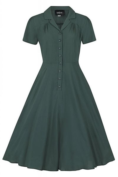 Swing Dress, GAYLE Green
