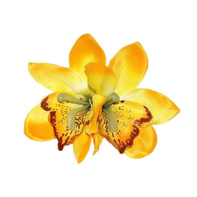 Hiuskoriste, GIGI Double Yellow Orchid