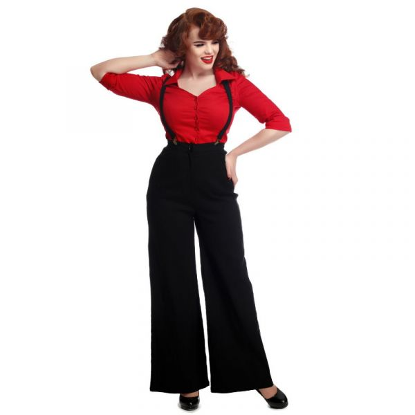 Trousers, GLINDA Black