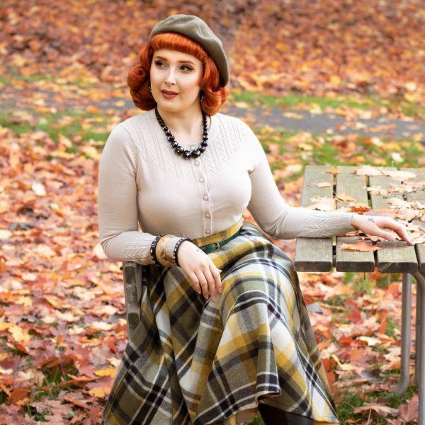 Swing Skirt, SOPHIE Khaki