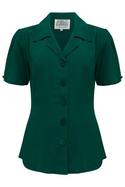 Pusero, SEAMSTRESS OF BLOOMSBURY Grace Vintage Green