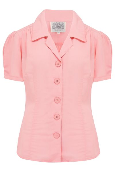 Blouse, SEAMSTRESS OF BLOOMSBURY Grace Pink