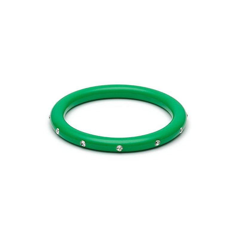 Rannerengas, SPLENDETTE Green Diamante Narrow