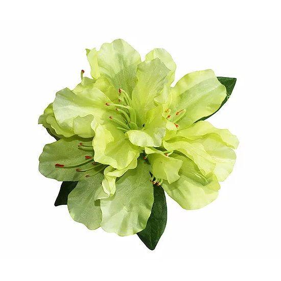 Hair flower, RHODO Lime