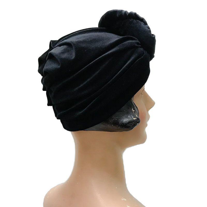 RUBYLEA Turbaani, GRETA Black Velvet