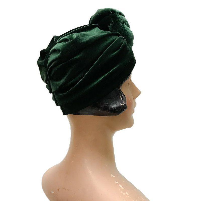 RUBYLEA Turbaani, GRETA Green Velvet