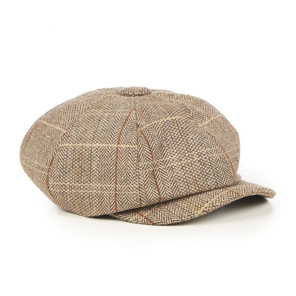Hattu, PAPER BOY Brown (2438)