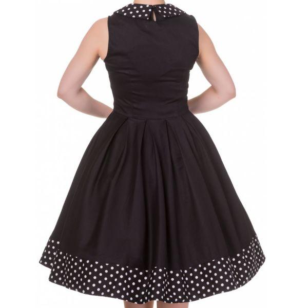 Swing Dress, HAZEL Black (338-1)