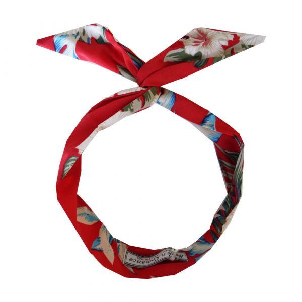 Wired Headband, ROCK'N Red Hawaiian