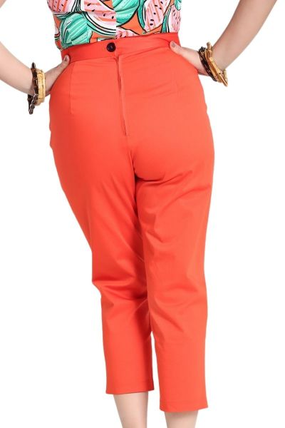 Housut, HELEN Orange (50124)