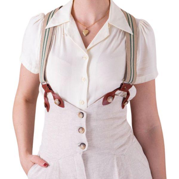 EMMY Sassy Suspenders, Sand