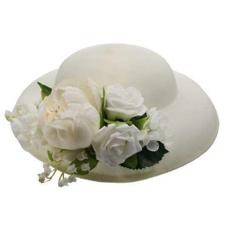 Hattu & Kukkakoriste, MIRANDA's White & Ivory Flowers